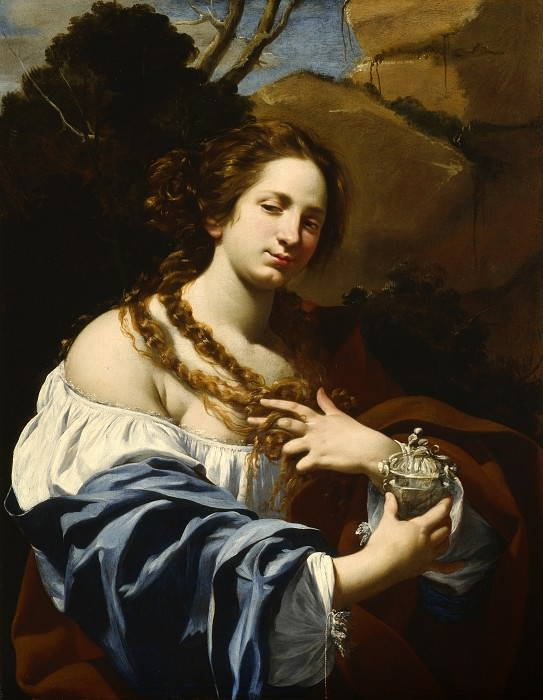 Simon Vouet - Virginia da Vezzo, the Artist′s Wife, as the Magdalen. Los Angeles County Museum of Art (LACMA)