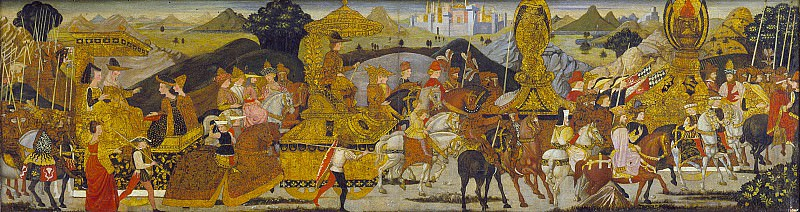 Bernardo Rosselli - The Triumph of Alexander. Los Angeles County Museum of Art (LACMA)
