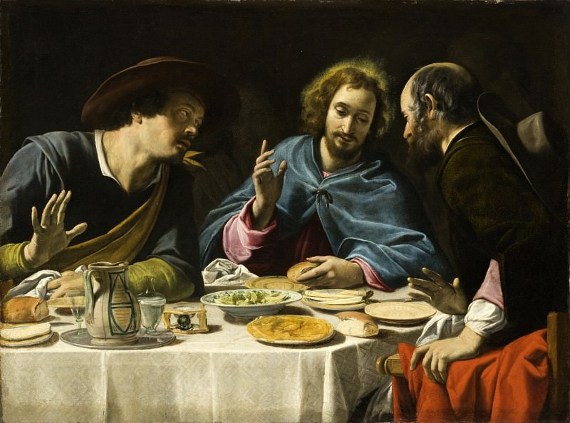 Filippo Tarchiani - The Supper at Emmaus. Los Angeles County Museum of Art (LACMA)