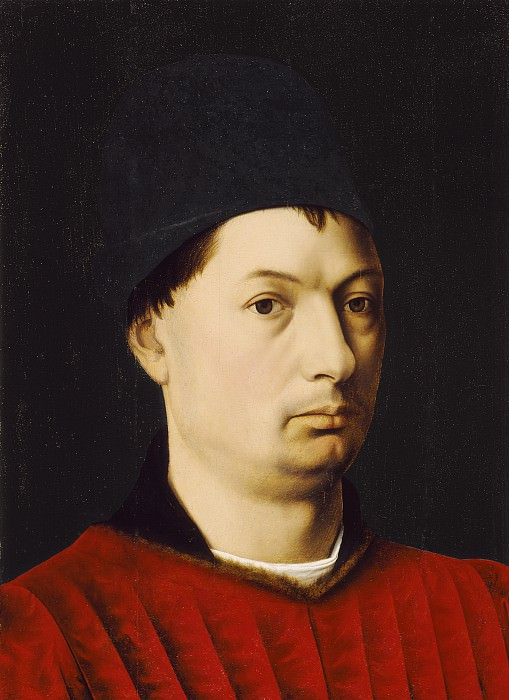 Petrus Christus - Portrait of a Man. Los Angeles County Museum of Art (LACMA)