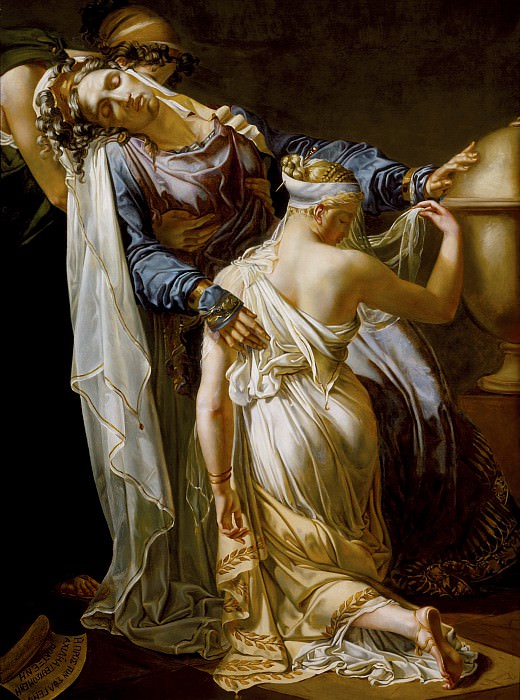 Merry-Joseph Blondel - Hecuba and Polyxena. Los Angeles County Museum of Art (LACMA)
