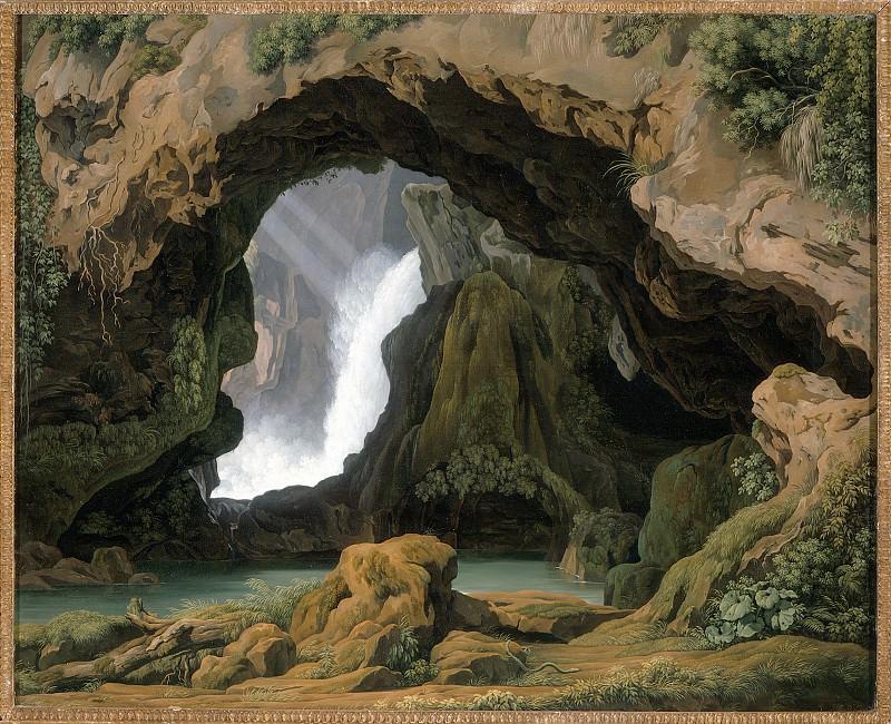 Johann Martin von Rohden - The Grotto of Neptune in Tivoli. Los Angeles County Museum of Art (LACMA)