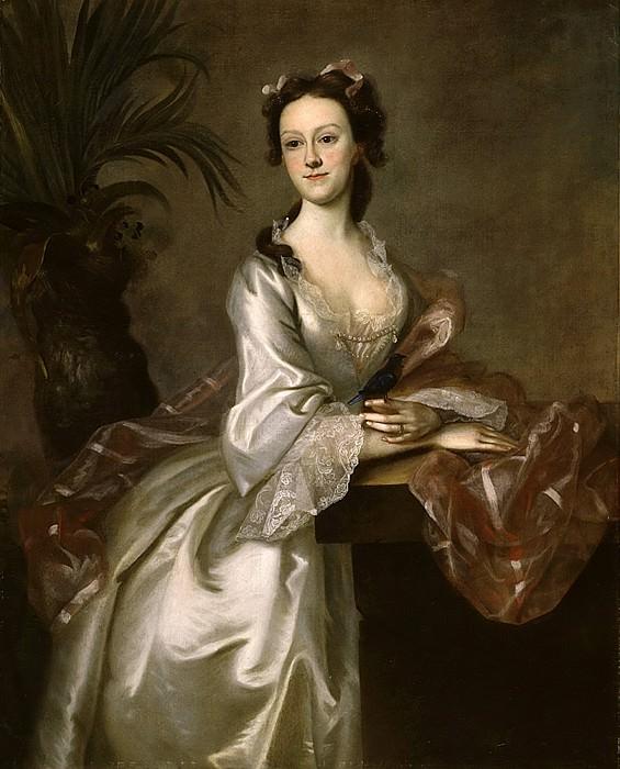 Joseph B. Blackburn - Portrait of Mrs. John Pigott. Los Angeles County Museum of Art (LACMA)