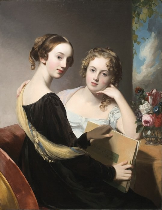 Thomas Sully - Portrait of the Misses Mary and Emily McEuen. Los Angeles County Museum of Art (LACMA)