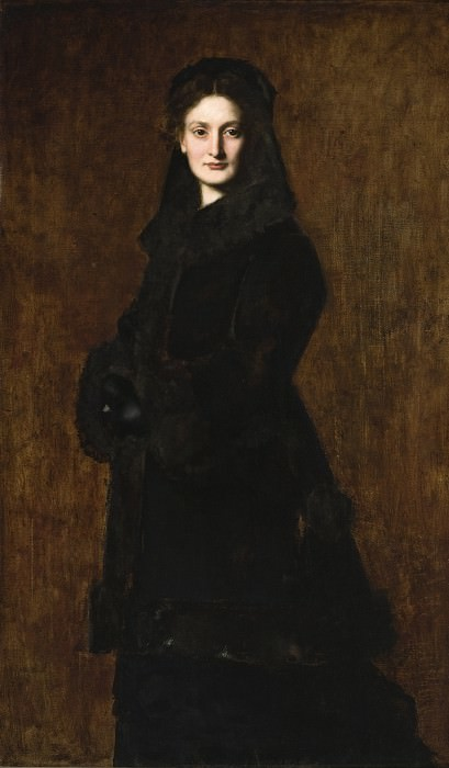 Jean-Jacques Henner - Portrait of Madame Paul Duchesne-Fournet. Los Angeles County Museum of Art (LACMA)
