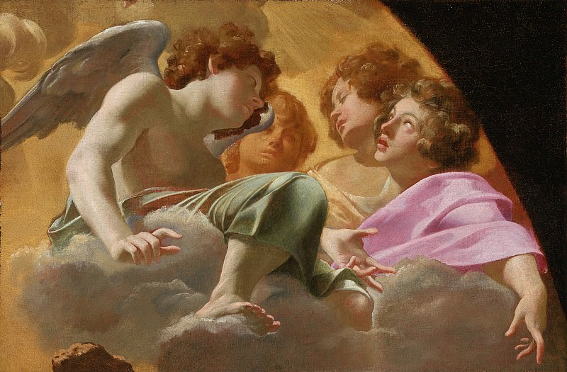Simon Vouet - Model for Altarpiece in St. Peter′s. Los Angeles County Museum of Art (LACMA)
