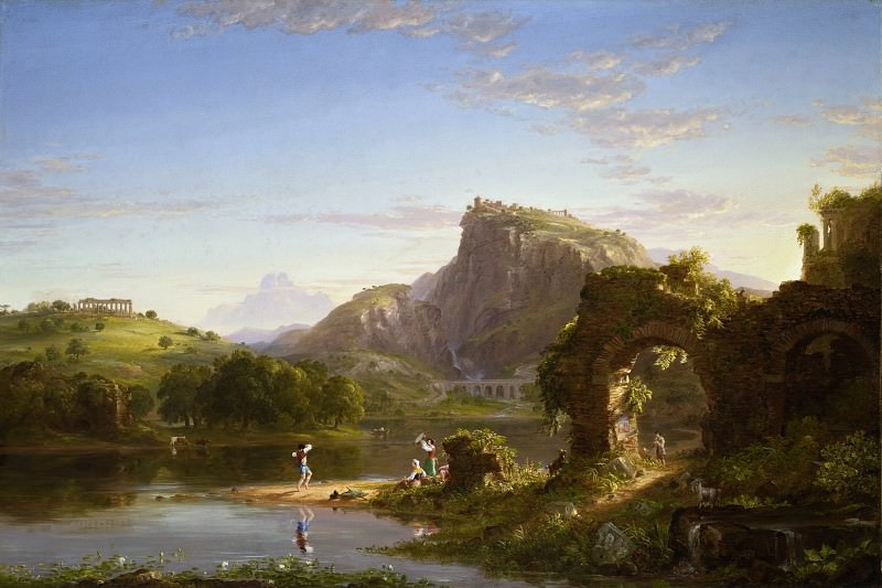 Thomas Cole - L′Allegro. Los Angeles County Museum of Art (LACMA)