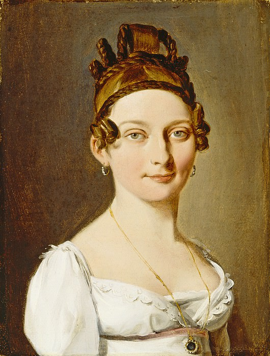 Louis-Leopold Boilly - Portrait of a Lady. Los Angeles County Museum of Art (LACMA)