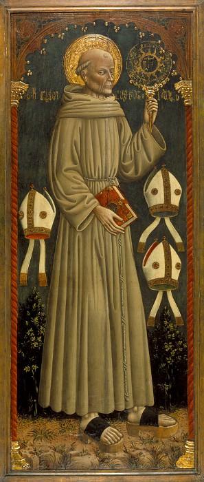 Дарио ди Джованни - Святой Бернардино Сиенский. LACMA (Лос Анджелес)