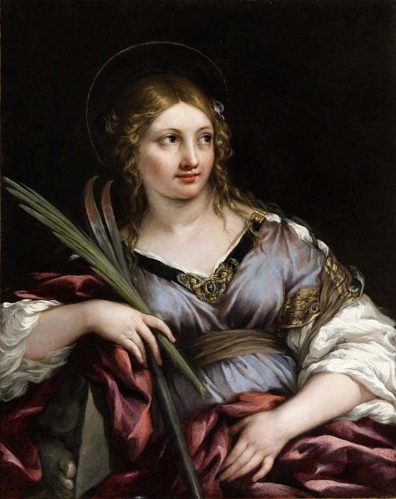 Pietro Berrettini (called Pietro da Cortona) - St. Martina. Los Angeles County Museum of Art (LACMA)