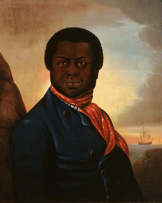 Unknown - Portrait of a Black Sailor (Paul Cuffe?). Los Angeles County Museum of Art (LACMA)