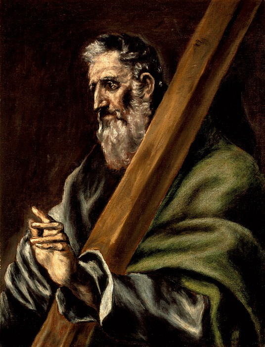 The Apostle Andrew. El Greco (school of)