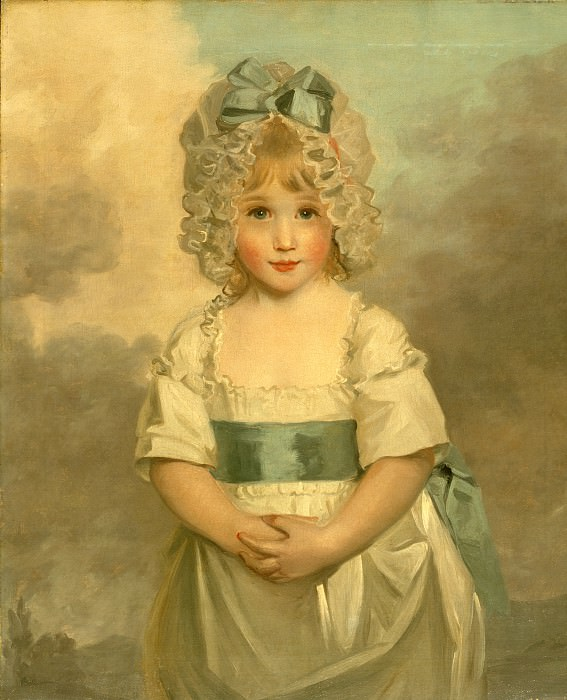 John Hoppner - Miss Charlotte Papendick as a Child. Los Angeles County Museum of Art (LACMA)