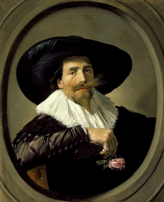 Frans Hals - Portrait of a Man (Pieter Tjarck ). Los Angeles County Museum of Art (LACMA) (?)
