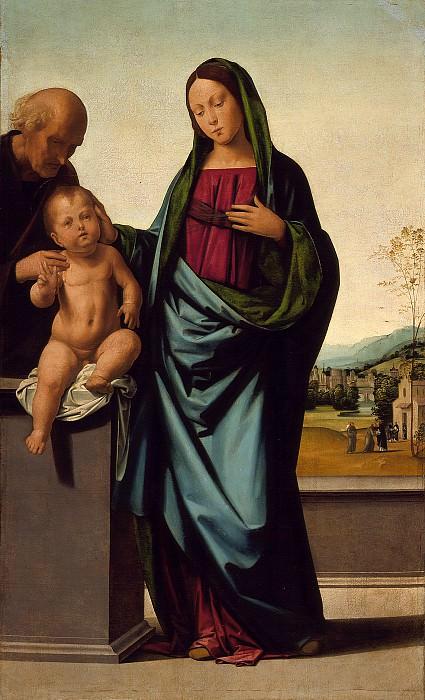Фра Бартоломео - Святое Семейство. Окружной художественный музей (LACMA) ~ Лос-Анджелес