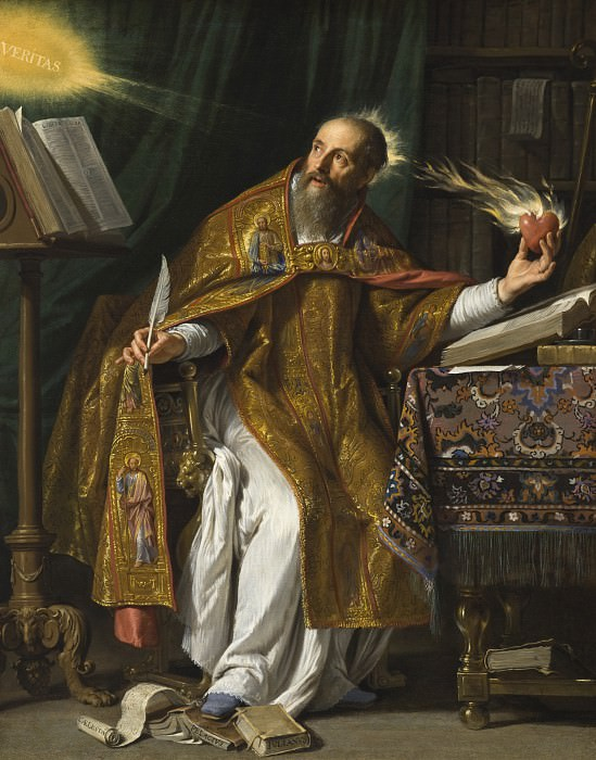 Philippe de Champaigne - Saint Augustine. Los Angeles County Museum of Art (LACMA)