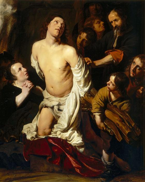 Salomon de Bray - The Martyrdom of Saint Lawrence. Los Angeles County Museum of Art (LACMA)