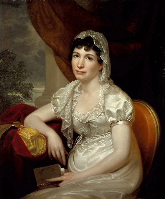 Rembrandt Peale - Portrait of Jane Griffith Koch. Los Angeles County Museum of Art (LACMA)