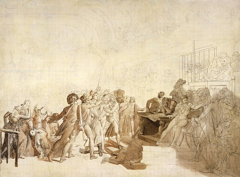 Baron Francois-Pascal-Simon Gerard - The 10th of August, 1792. Los Angeles County Museum of Art (LACMA)