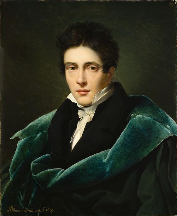 Alexandre Dubois-Drahonet - Portrait of Monsieur Gest. Los Angeles County Museum of Art (LACMA)