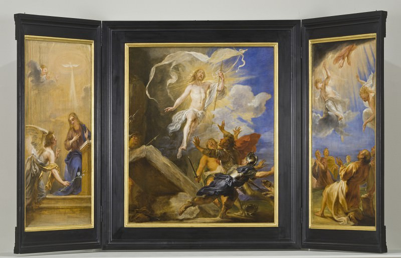 Jan (called Lange Jan) Boeckhorst - The Snyders Triptych. Los Angeles County Museum of Art (LACMA)