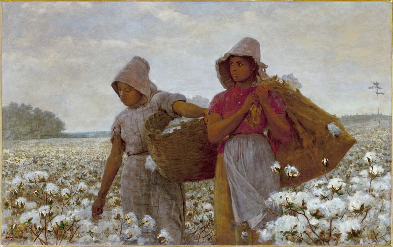 Winslow Homer - The Cotton Pickers. Los Angeles County Museum of Art (LACMA)