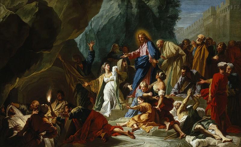 Jean Jouvenet - The Raising of Lazarus. Los Angeles County Museum of Art (LACMA)
