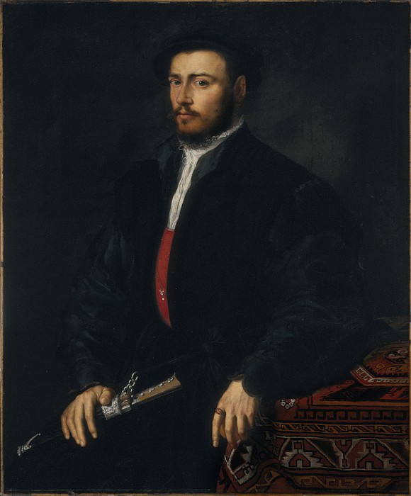 Veneto-Lombard School - Portrait of a Young Nobleman. Los Angeles County Museum of Art (LACMA)