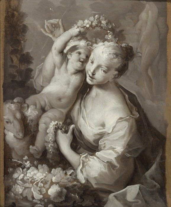 Ignazio Stern - Allegory of Spring. Los Angeles County Museum of Art (LACMA)