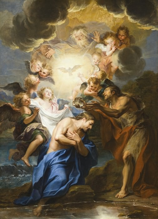 Antoine Coypel - The Baptism of Christ. Los Angeles County Museum of Art (LACMA)