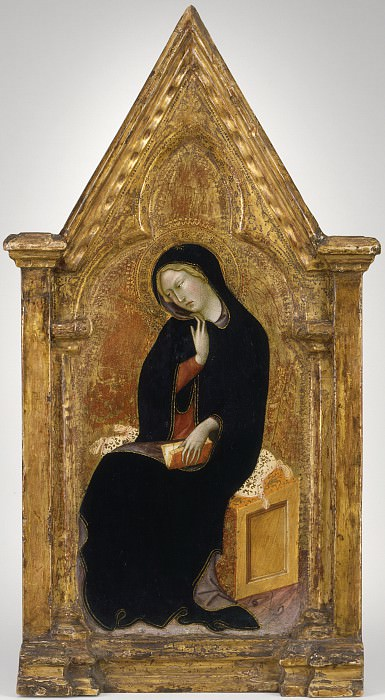 Bartolo di Fredi - The Virgin of the Annunciation. Los Angeles County Museum of Art (LACMA)