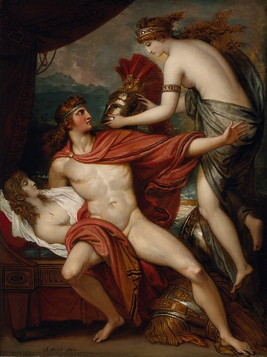 Benjamin West - Thetis bringing the Armor to Achilles. Los Angeles County Museum of Art (LACMA)