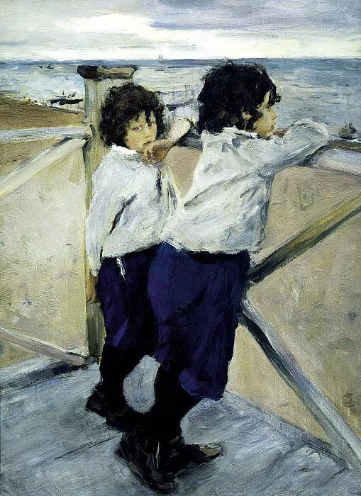 Valentin Serov - Children. 900 Classic russian paintings