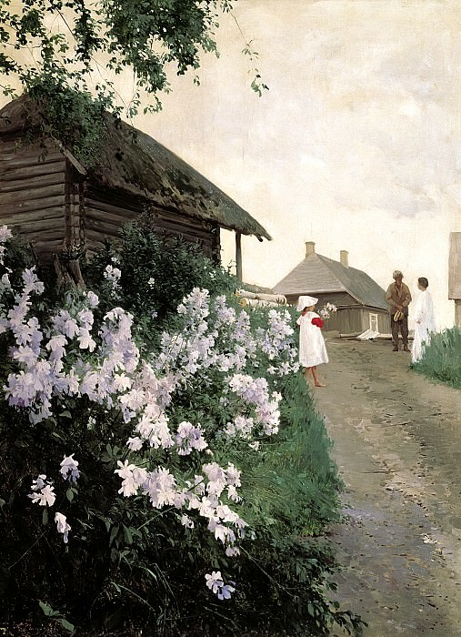 Schilder Andrew - Cottage in Finland. 900 Classic russian paintings
