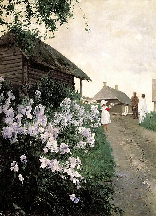 ШИЛЬДЕР Андрей - Дача в Финляндии. 900 Картин самых известных русских художников