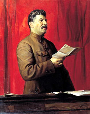 Portraits of Stalin - Isaac Brodsky. 1. 900 Classic russian paintings
