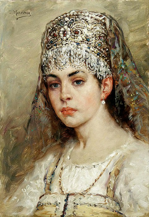 MAKOVSKY Constantine - young ladies. 900 Classic russian paintings