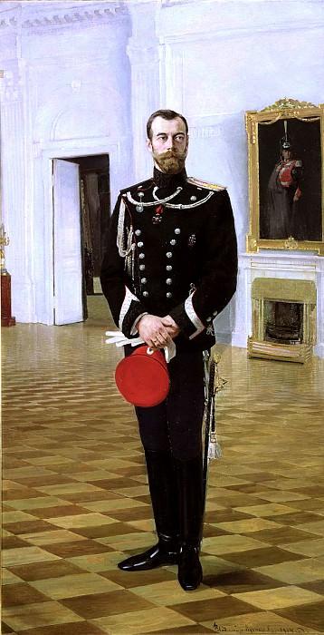 KUZNETSOV Vladimir - Emperor Nicholas II. 1914. 900 Classic russian paintings