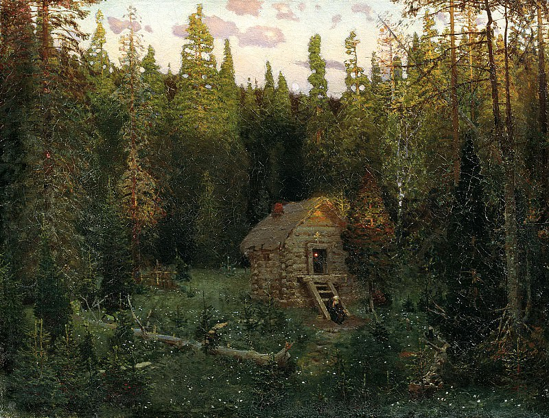 Vasnetsov Apollinary - Skeet. 900 Classic russian paintings
