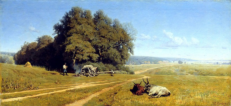 ORLOWSKI Vladimir - Landscape. 900 Classic russian paintings