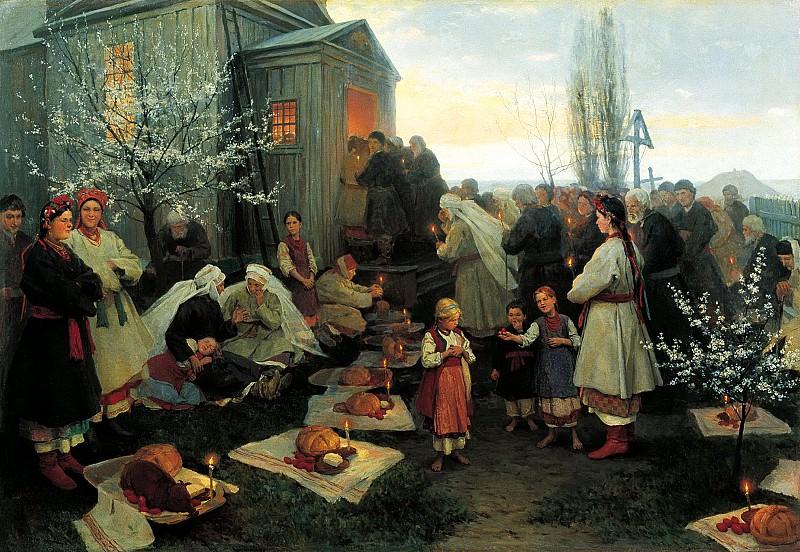 Pimonenko Nicholas - Easter. 900 Classic russian paintings