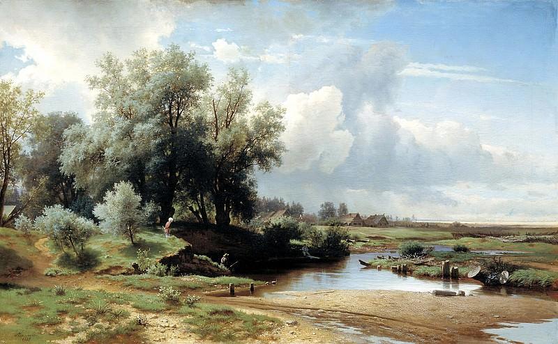 Brick Leo - landscape. 900 Classic russian paintings