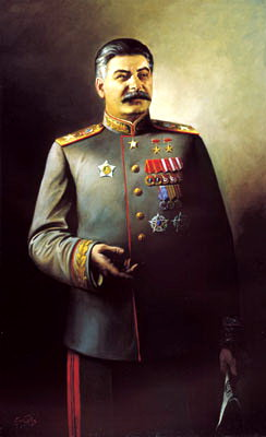 Portraits of Stalin - Vasyl Yakovlev. 900 Classic russian paintings