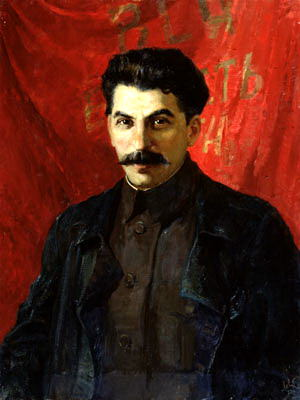 Portraits of Stalin - Abel Levitan. 900 Classic russian paintings