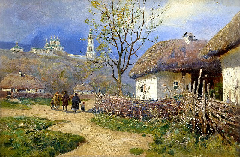 Vasilkovsky Sergey - Poltava. 900 Classic russian paintings