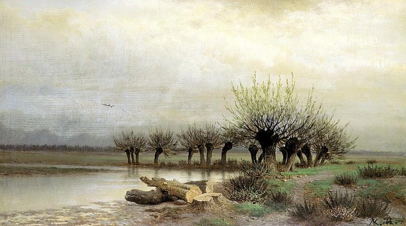 Brick Leo - Spring. 900 Classic russian paintings