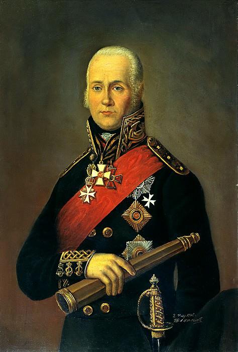 Bazhanov Peter - Admiral Fyodor Ushakov. 900 Classic russian paintings