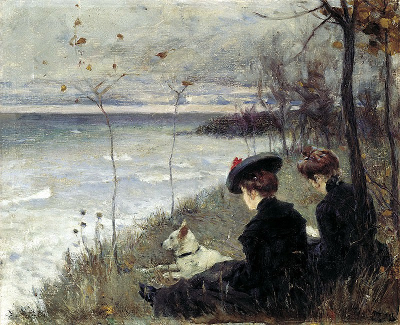 Nilus Peter - Autumn. 900 Classic russian paintings