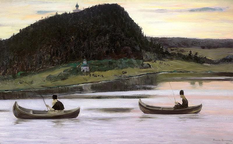 Nesterov Mikhail - Silence. 900 Classic russian paintings