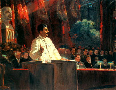 Portraits of Stalin - Alexander Gerasimov. 900 Classic russian paintings